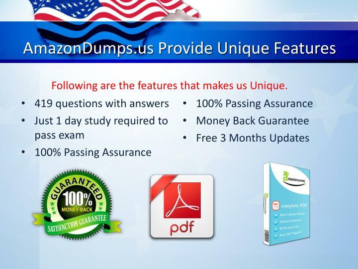 AmazonDumps.us Provide Unique Features