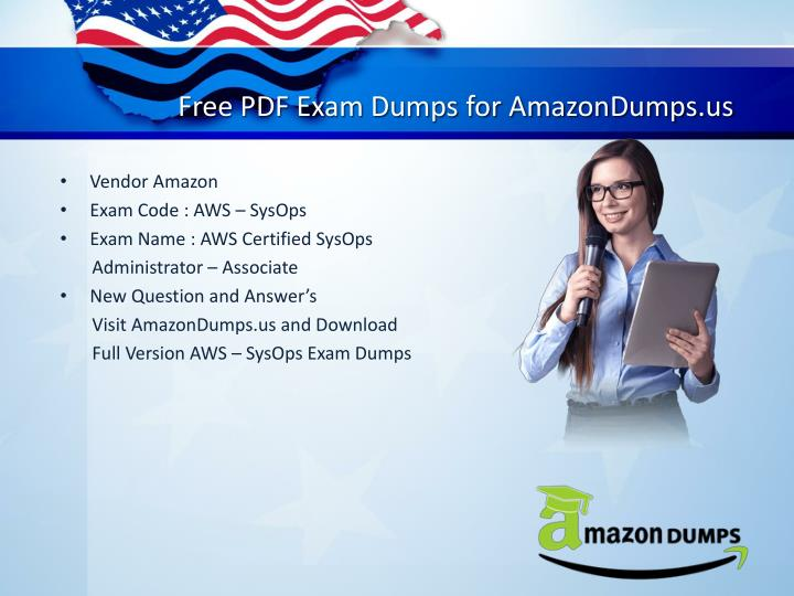 Free pdf exam dumps for amazondumps us