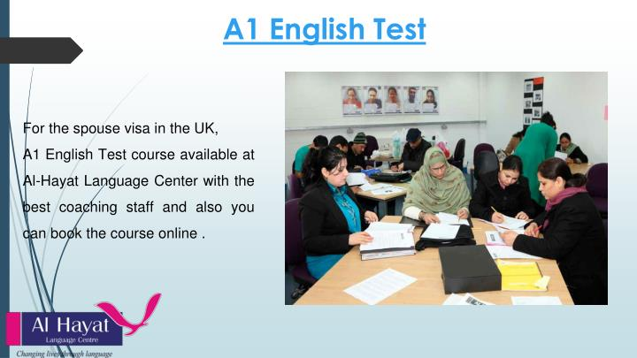 A1 English Test