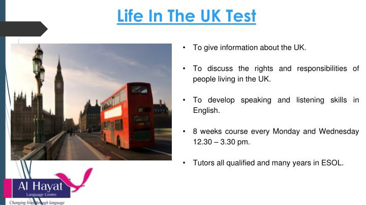 Life In The UK Test