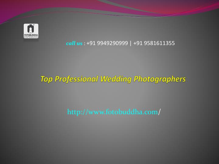 top professional wedding photographers n.