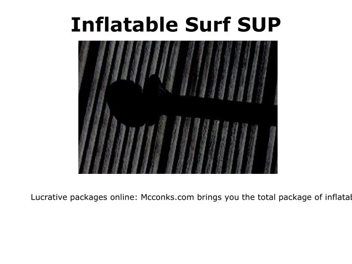Inflatable Surf SUP
