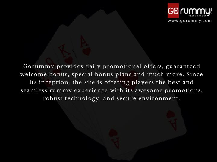 Gorummy provides daily promotional offers, guaranteed