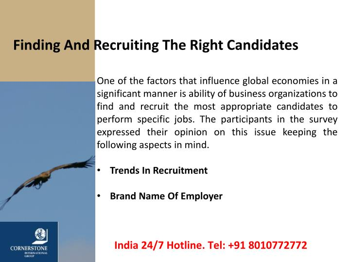 Finding And Recruiting The Right Candidates