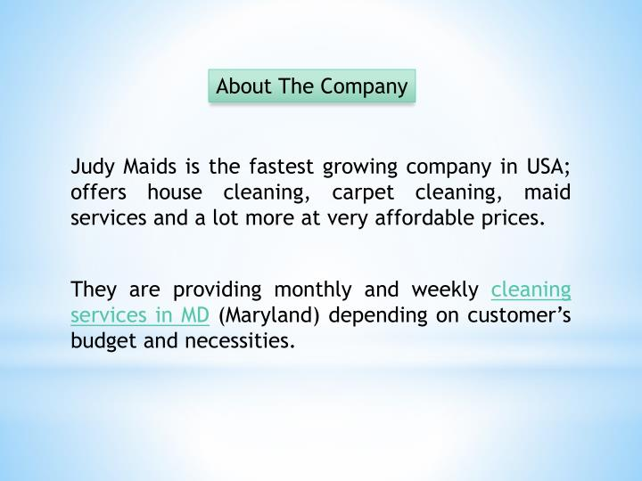 About The Company