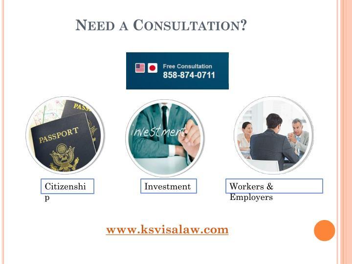 Need a Consultation?