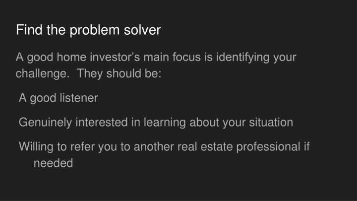 Find the problem solver