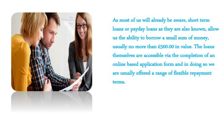 As most of us will already be aware, short term loans or payday loans as they are also known, allow ...