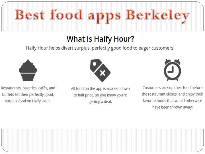 Best food apps Berkeley