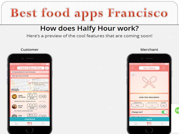 Best food apps Francisco