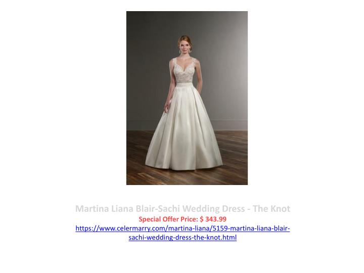 Martina Liana Blair-Sachi Wedding Dress - The Knot