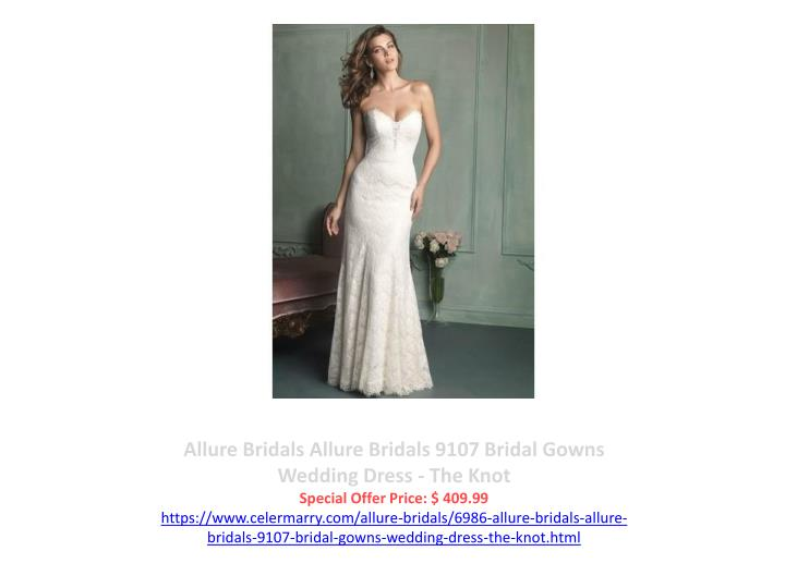 Allure Bridals Allure Bridals 9107 Bridal Gowns Wedding Dress - The Knot
