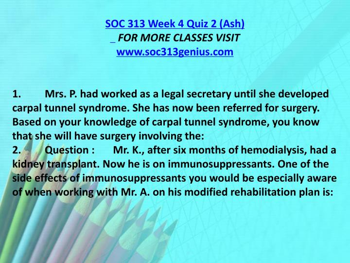SOC 313 Week 4 Quiz 2 (Ash)