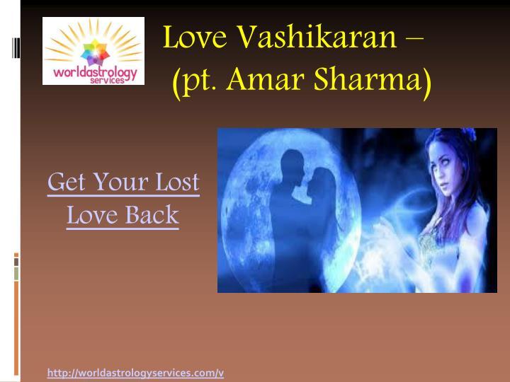Love Vashikaran –
