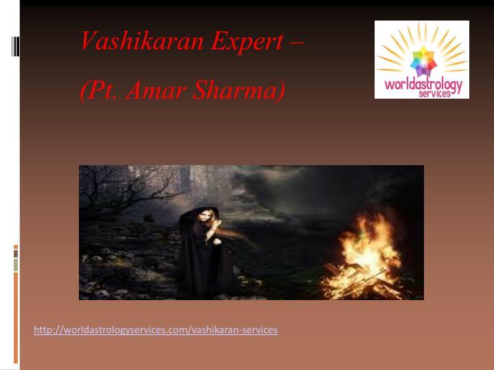 Vashikaran Expert –