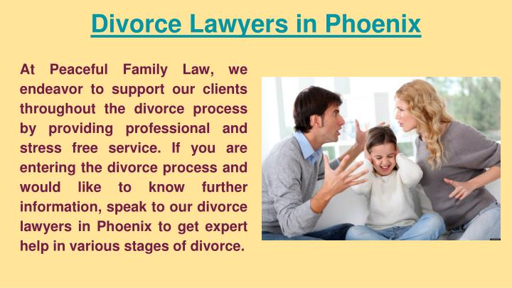 Divorce lawyers in phoenix