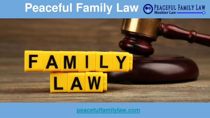Peaceful family law