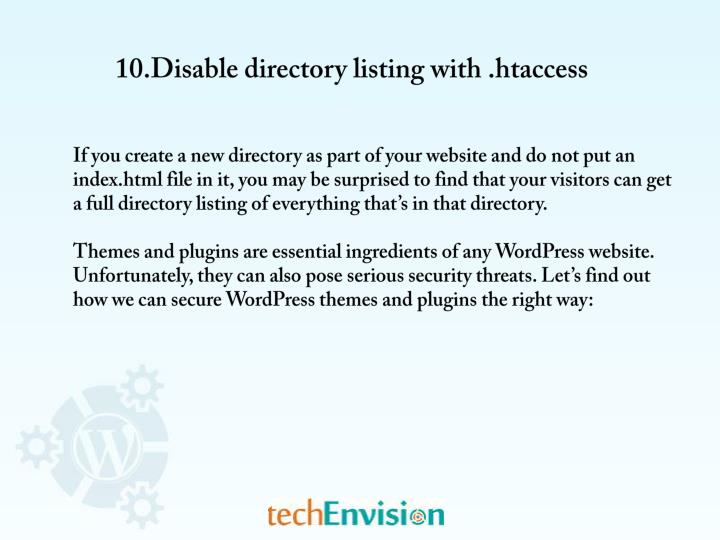 10.Disable