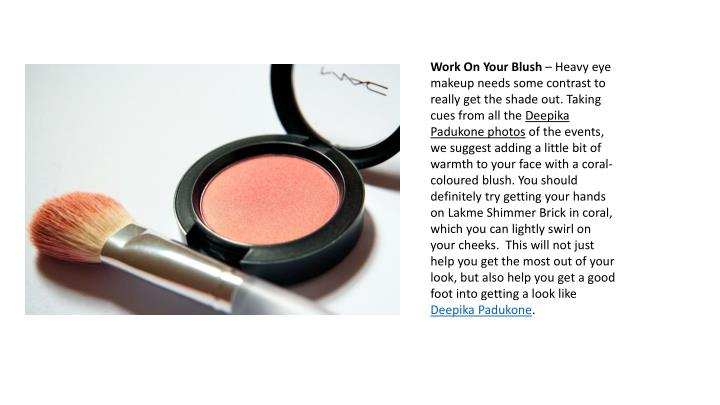 Work On Your Blush