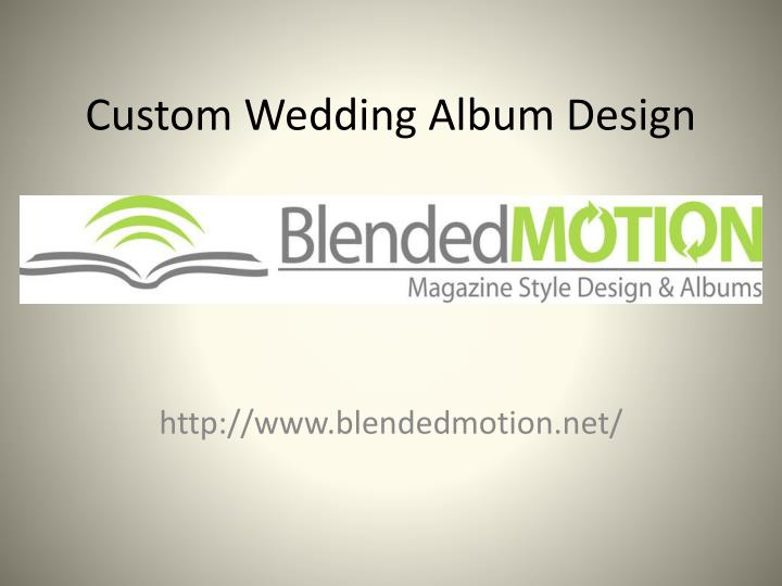 custom wedding album design n.