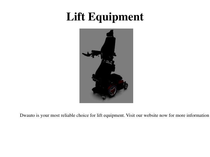 Lift Equipment
