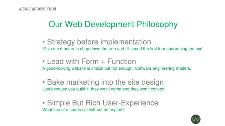 WEBTAGE WEB DEVELOPMENT
