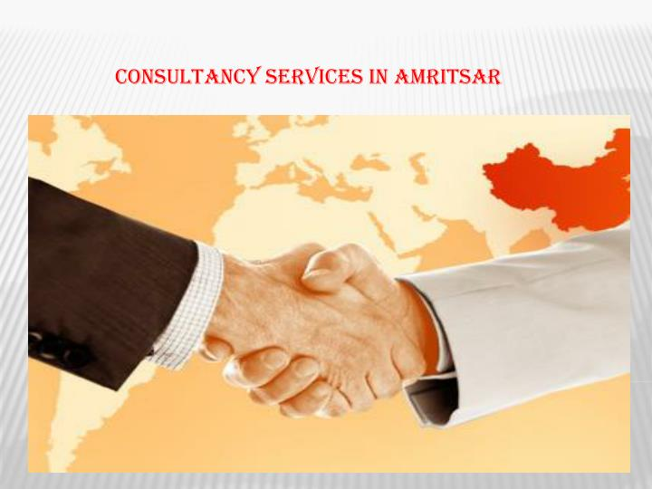 Consultancy services in amritsar