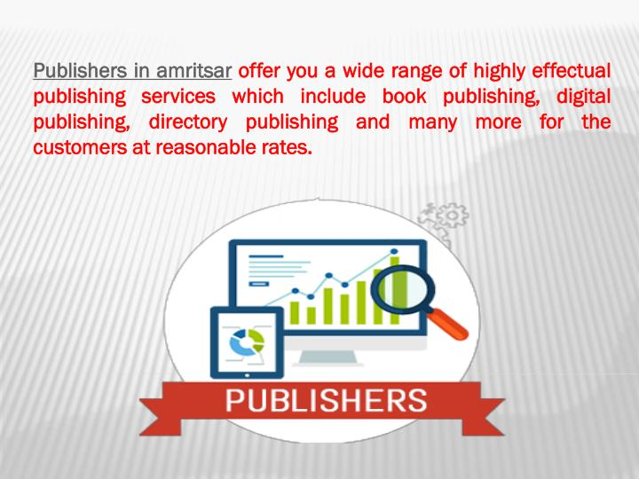 Publishers in
