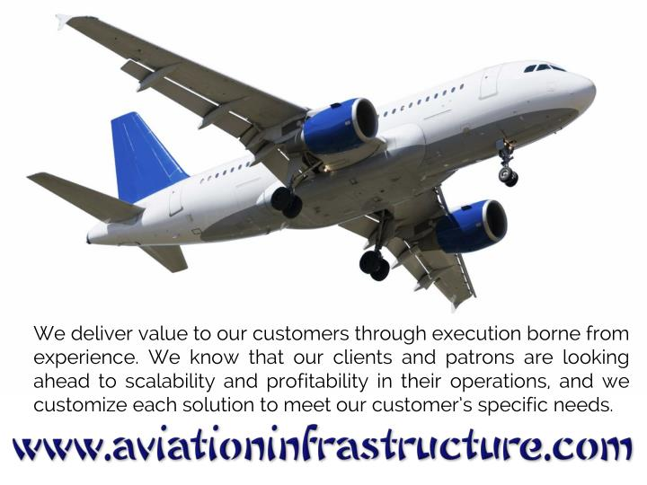 We deliver value to our customers through execution borne from experience. We know that our clients ...