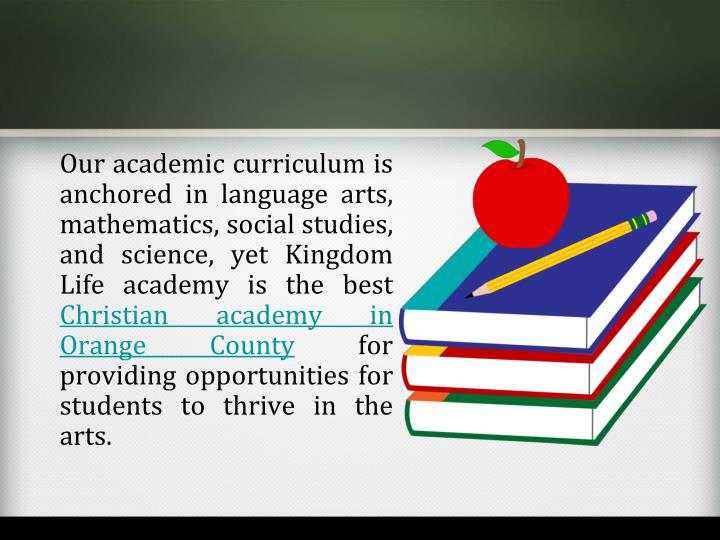 Our academic curriculum is anchored in language arts, mathematics, social studies, and science, yet Kingdom Life academy is the best