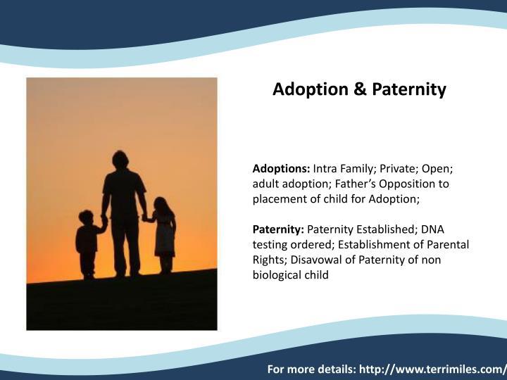 Adoption & Paternity