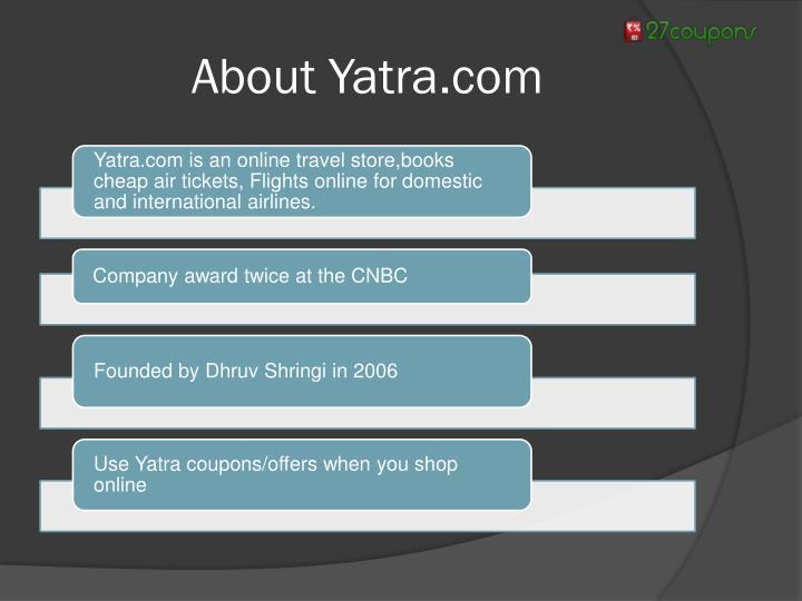 About Yatra.com