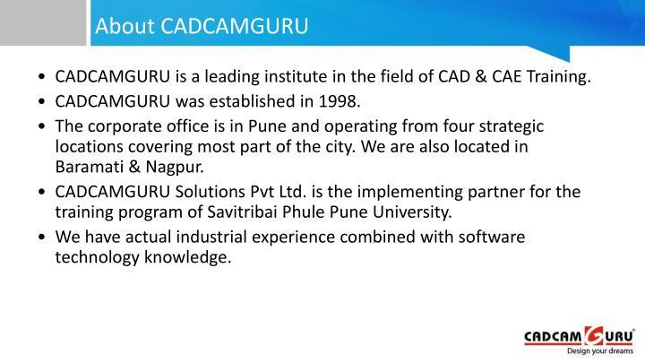 About cadcamguru