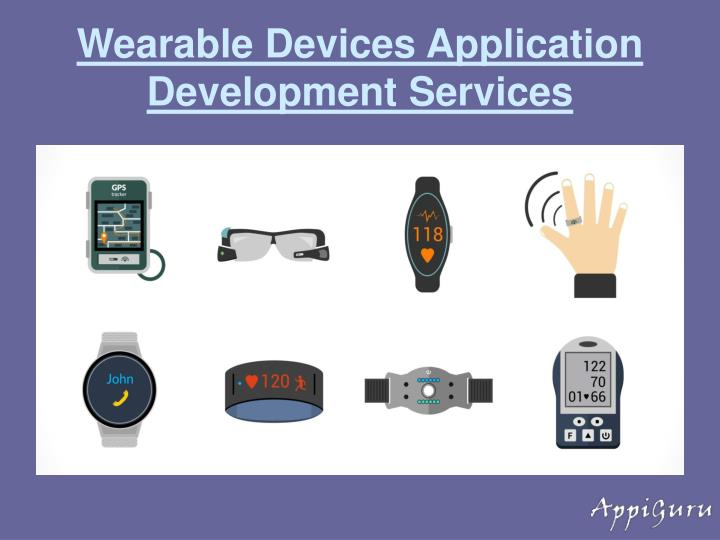 Wearable Devices Application Development Services