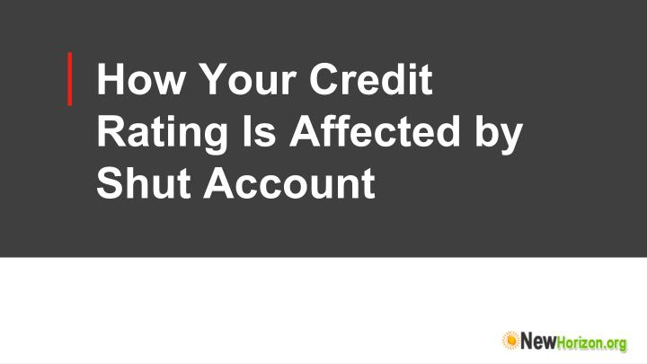 How Your Credit
