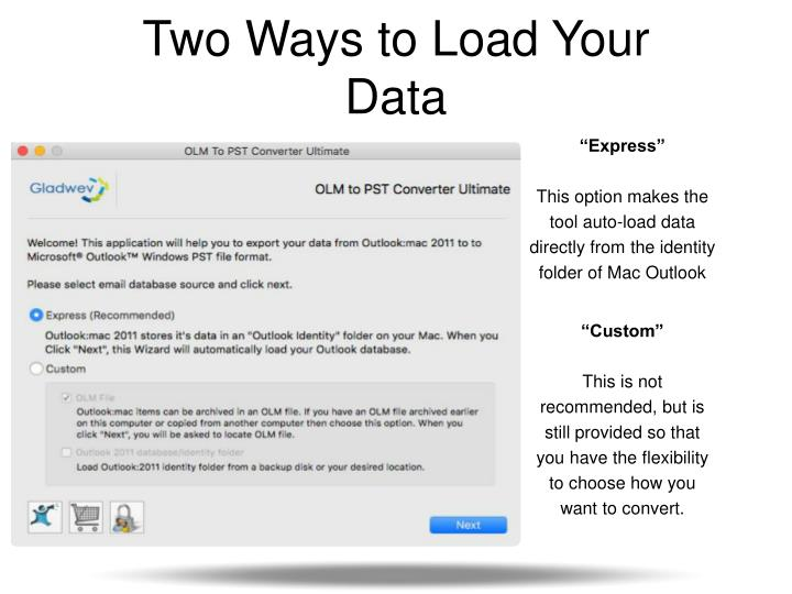 Two Ways to Load Your Data