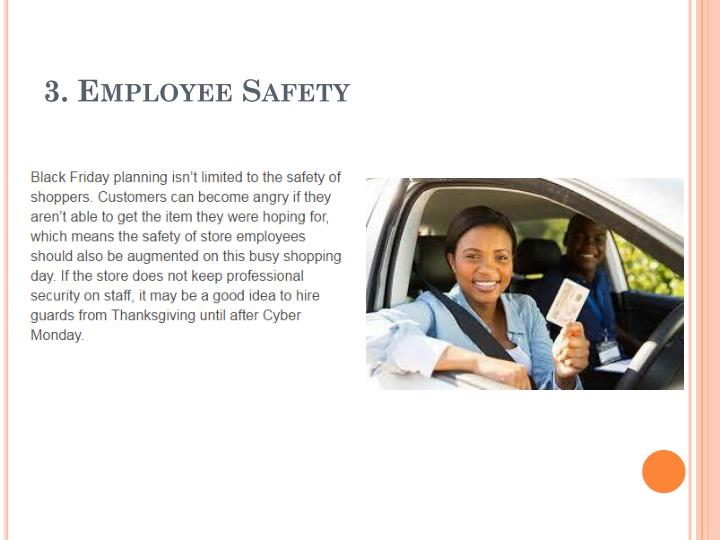 3. Employee Safety