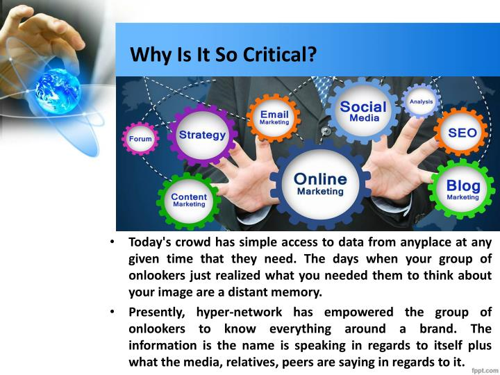 Why Is It So Critical?