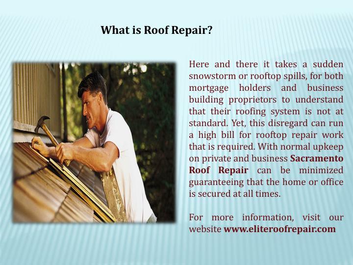 What is Roof Repair?