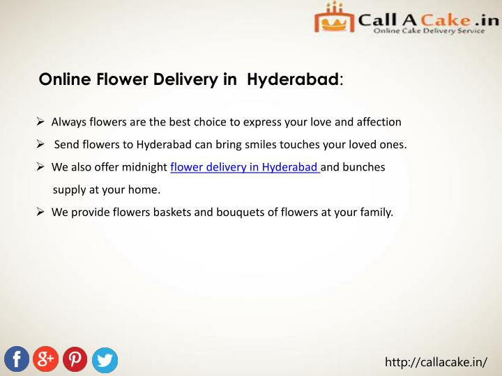 Online Flower Delivery in