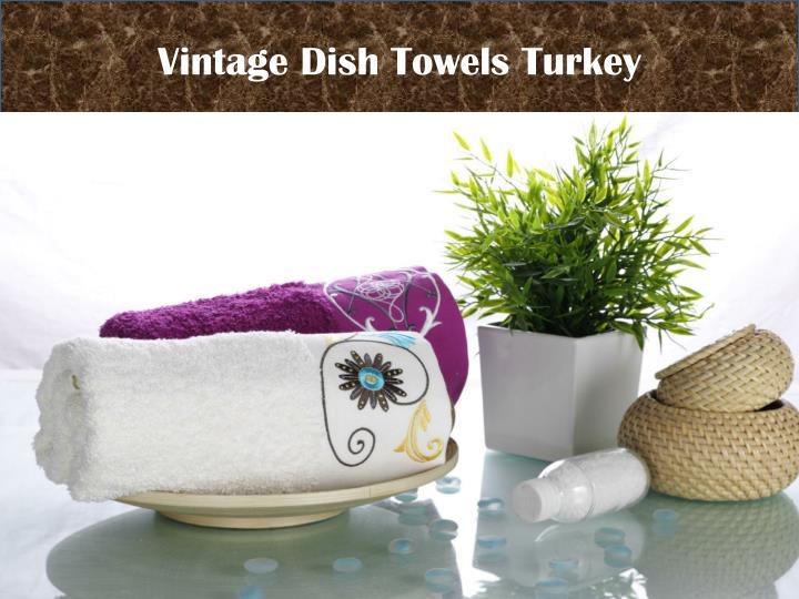 Vintage Dish Towels Turkey