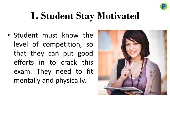 1 student stay motivated