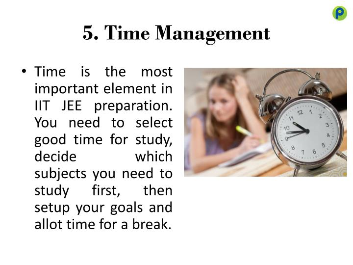 5. Time Management