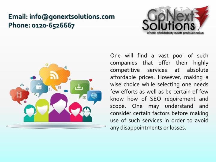 Email: info@gonextsolutions.com