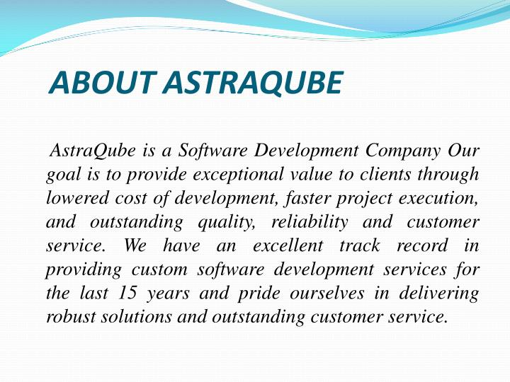About astraqube