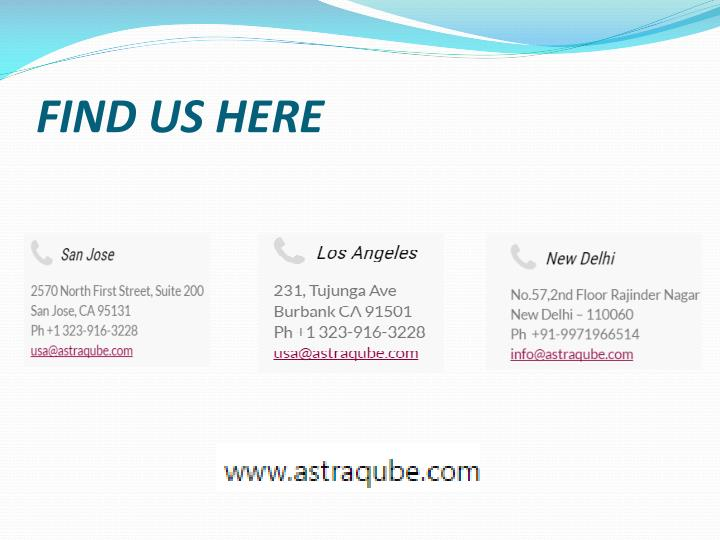 FIND US HERE
