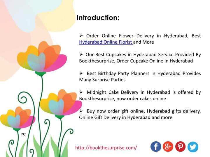 Order Online Flower Delivery In Hyderabad Best Florist And More