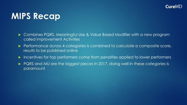 MIPS Recap