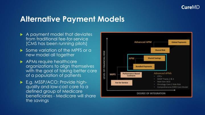 Alternative Payment Models