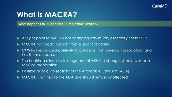 What is MACRA?